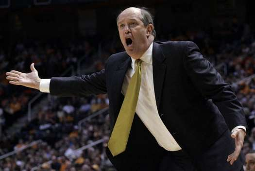 Vandy coach Kevin Stallings