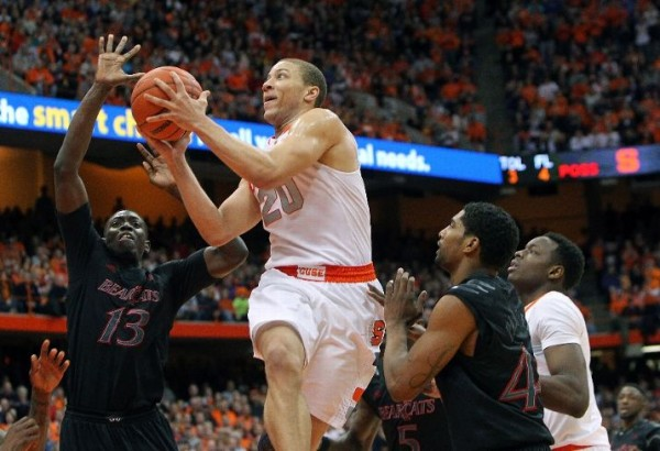 A tough two-game stretch couldn't stop the surging Orange (photo credit: Getty Images).