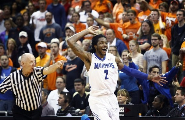 Shaq Goodwin will have his hands full with Patric Young tonight.