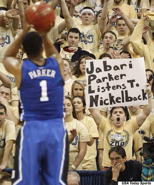 Jabari Parker Nickelback Sign