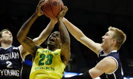 All game long, Elgin Cook and Oregon were one step ahead. (AP Photo/Morry Gash)