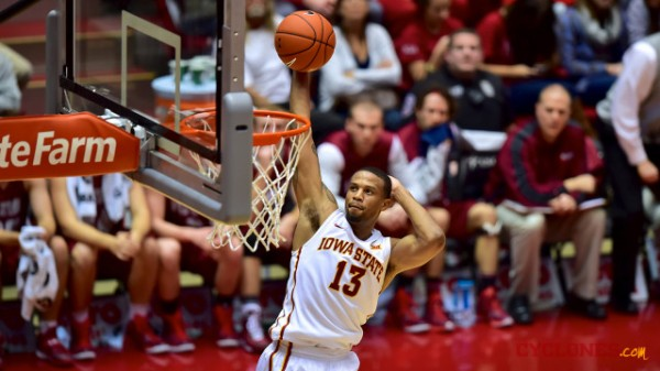 Iowa State will be without Bryce Dejean-Jones against Iowa on Friday. (Cyclones.com)
