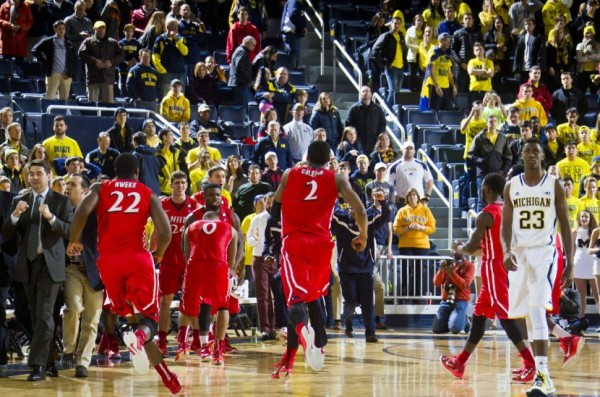 After A Weekend Loss To NJIT, Caris LaVert And Michigan Didn't Think Things Could Get Any Worse. They Did On Tuesday.