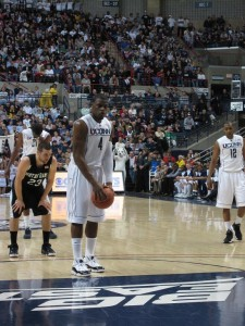 Adrien at the line