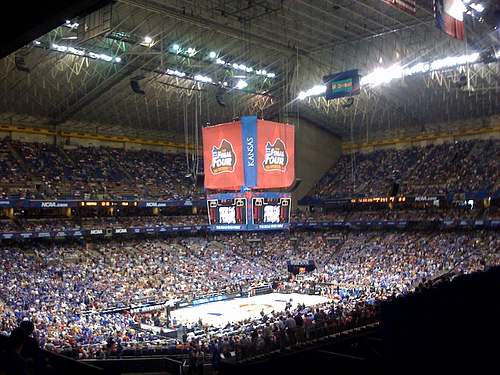 The Alamodome Has Hosted Several F4s