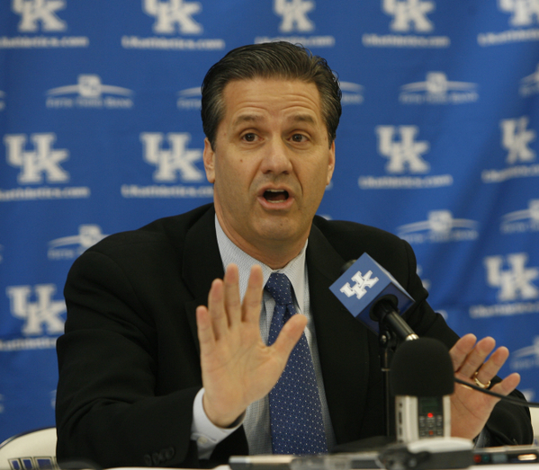 John Calipari's team has Final Four experience, and like it or not, so does he.