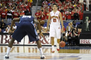 Vasquez heating up for the Terps