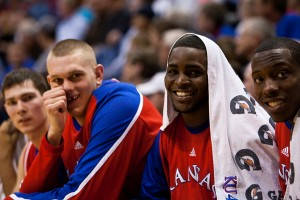 KU is still the favorite because of these two fellas