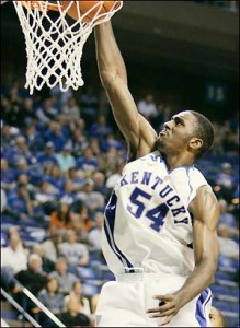 Patterson finishes confidently at the rim, but it was the jump shot he debuted last year that wowed scouts...and fans.