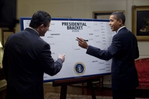 The days of the symmetric bracket are over.  Messrs. Obama and Katz will need a new eraser board.
