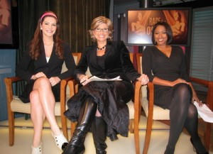Some of TruTV's on-air talent.  Yes, that's Ashleigh Banfield.