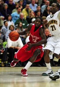 Star swingman John Holland is a powerful weapon for BU, but will he be able to power the Terriers into the Big Dance?