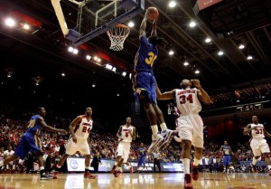Kenneth Faried's return to Morehead State spells trouble for the rest of the OVC in 2010-11. (Andy Lyons/Getty Images)