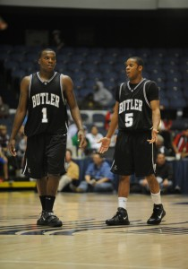 Both Shelvin Mack (1) and Ronald Nored are back for the Bulldogs.