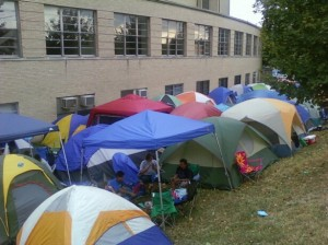 When the Tents Sprout in Lexington for Big Blue Madness Tickets, You Know That Fall Is Here.