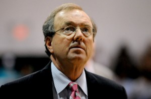 Cliff Ellis led Coastal Carolina to school records in regular season victories and wins in conference play, but had to settle for the NIT in 2010. Such is life in the mid-majors. (TSN Archive)
