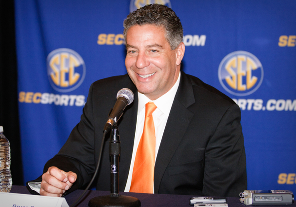 Bruce Pearl is back in the SEC, albeit in a different shade of orange.