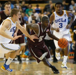 Will Cherry gave UCLA headaches in a monumental win for the Montana program (AP/L. Shepler)