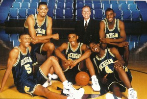 Steve Fisher brought Michigan a whole team with the Fab Five.