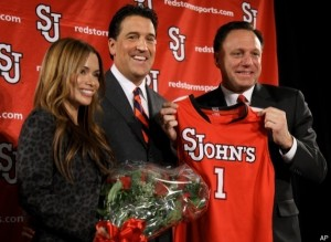 Steve Lavin was hired to replace Norm Roberts as head coach at storied St. John's.
