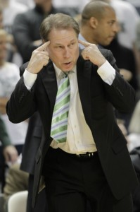 Tom Izzo Has The Spartans Contending For The Top Spot In The Conference.
