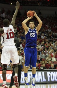 "Tonight, Josh Harrellson Will Be the Lone Kentucky Player Honored By the Senior Night Playing of ""My Old Kentucky Home"""