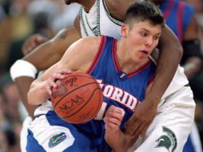 Sophomore Mike Miller was the best player on a young but talented Florida team.