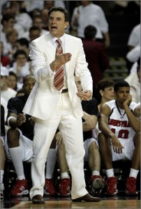 Pitino Showed His Mellower Side During Cheerleadergate