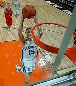 MOP Jeff Sheppard and Kentucky overcame a 10-point deficit to beat Utah.