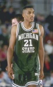 NBA talents with years of college experience like Michigan State's Steve Smith made the 1990 NCAA special.