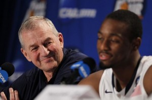 Jim Calhoun (left) and Kemba Walker will be inextricably linked to UConn's memorable NCAA Tournament run. (Reuters/Lucy Nicholson)