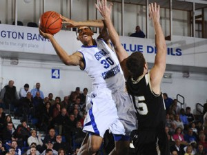 CCSU's Ken Horton Leads The Charge For The Blue Devils. (CCSUBlueDevils.com)