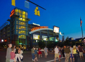 """This Is a Slow Night In Columbus' Usually Buzzing Arena District. Dare We Predict...""""The Rupp District?"""""""