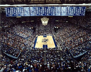 New Building Or Old, the Banners Will Still Hang And the Fans Will Still Fill It (image: ukathletics.com)