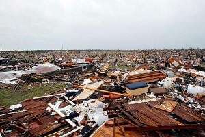 Joplin Tornado Damage, Courtesy CSMonitor.com