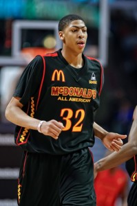 #1 recruit - Kentucky's Anthony Davis