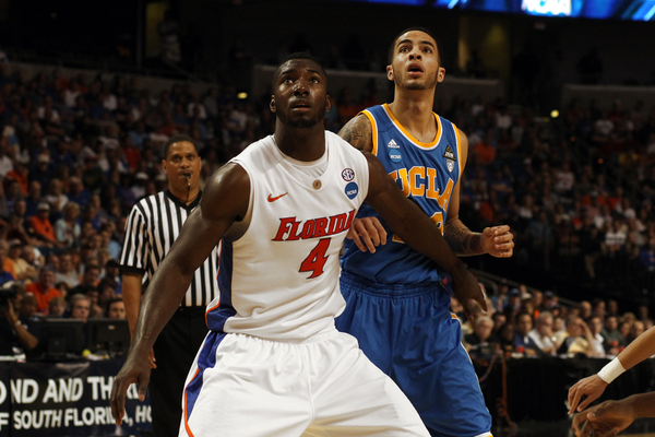 Patric Young should be able to feast on the glass against a small Memphis team.