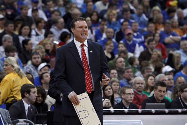 It's A Rarity, But Bill Self Is An Underdog Tonight In Stillwater (AP).