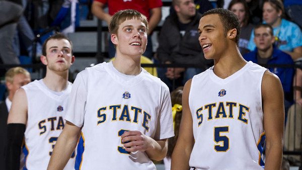 Nate Wolters (middle) Is Getting Plenty of Pub, But Needs Help To Lift The Jackrabbits To The Top Of The Summit.