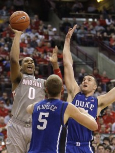 While Beating Duke, OSU's Jared Sullinger Proved He's the Best Player in the Best Conference (Credit: Jay LaPrete, AP))