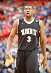 Vanderbilt will miss Ezeli's defense and post presence during his absence.