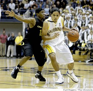 Gutierrez led the Golden Bears with 14 points on Tuesday night. (credit: San Francisco Gate)