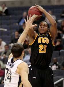 Bradford Burgess Is Smoother Than Silk For The Rams, And VCU's Defense Is Getting It Done At The Other End. (AP Photo)