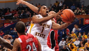 Joe Ragland Sliced And Shot His Way To A 30-Point Game In The Shockers' Win Over The Runnin' Rebels Sunday. (MVC-Sports.com)