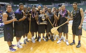 The Wildcats Have Plenty of Souvenirs To Bring Home After Winning The Diamond Head Classic. (AP)