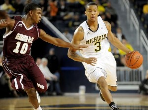 Freshman Cousy Award Nominee Trey Burke Is Having A Standout Year That Many Didn't See Coming. (Angela J. Cesere/annarbor.com)