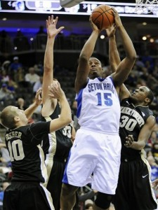 Herb Pope Has Been a Dominant Force This Season for Seton Hall (AP/B. Kostroun)