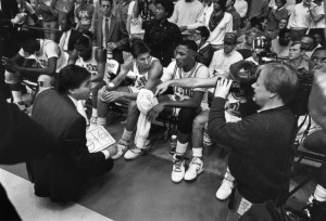 Jim Valvano was a self-made coach with confidence.
