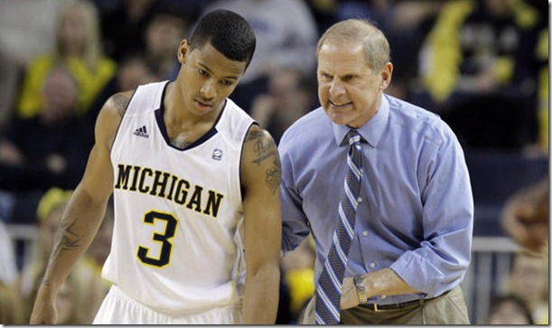 John Beilein is Pleased with his Freshman Point Guard's Development (AP Photo)