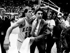 Coach Jim Valvano was always close with his fiery point guard.